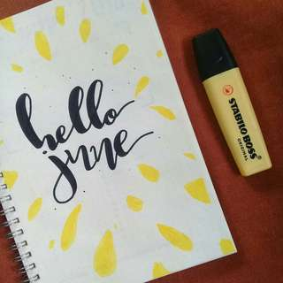 [ONHAND] A5 Muji Style Notebook