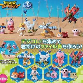 Megahouse Digimon Adventure Digicolle! DATA 02 Figure 8pcs set (Pre-Order)