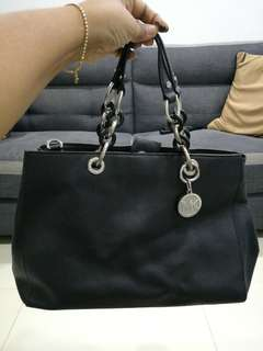 Michael kors black big bag
