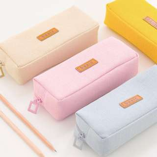 Canvas Pencil Case (Big Size)