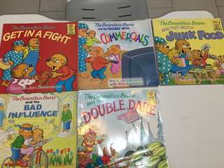 The Berenstain Bears books (left 1)