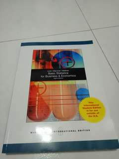 Business Statistics Textbook