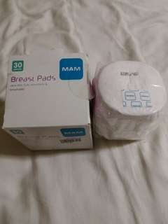 Mam 30pcs breast pad