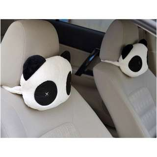 PANDA CAR HEADREST