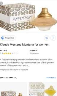 Claude Montana - perfume 100ml