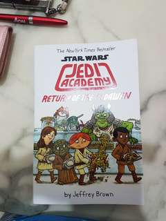 Star Wars Jedi Academy : Return of The Padawan
