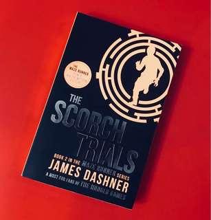 BN The Maze Runner Series Book 2, The Scorch Trials by James Dashner