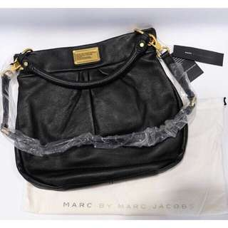 Authentic New Marc by Marc Jacobs M393014 Black Leather Bag