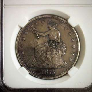 Vintage Coin United States (1875) ( Rare)