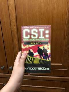 CSI: Sin City by Max Allan Collins