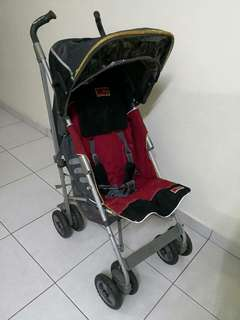 Stroller, Baby car seat, baby cot mosquito net hanger bundle sell.