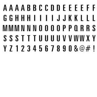 Lightbox Alphabets - Brand New