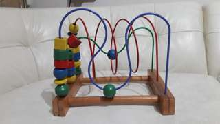 Wooden Toy for hand-eye coordination