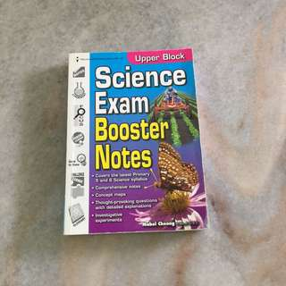 PSLE Science exam booster notes