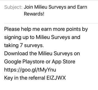 Join Milieu Surveys