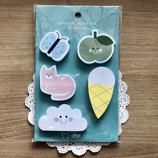 BN Kikki K Cute Post-It Pads