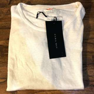ZARA Men's Linen T-Shirt