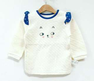 Sweater Agabang (Korean Brand) super soft & cute 😍 size 2-3 years only