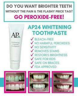 🚚 Whitening toothpaste