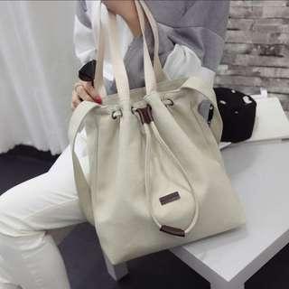 [INSTOCKS] Classic Canvas Shoulder Bag