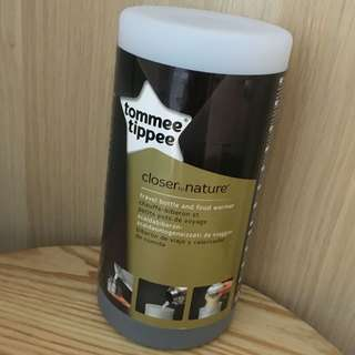 BN New Tommee Tippee Closer to Nature Travel Bottle Thermal Flask and Food Warmer