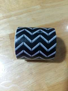 Used zigzag wide washi tape