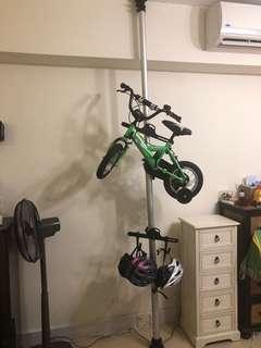 天地柱單車架 (唔連單車)