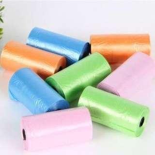 Nappy Non Fragrance Disposable Plastic Bag