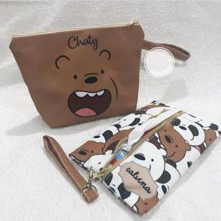 🚚 CUSTOM TISSUE COVER we bare bears wbb