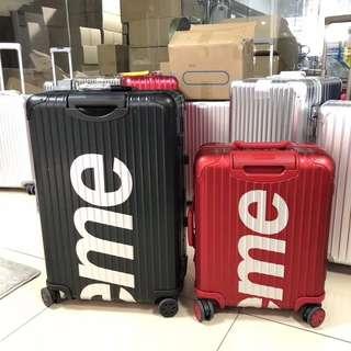 Supreme suitcase日默瓦喼 箱子