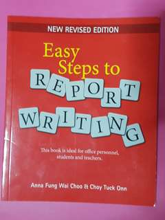 Easy Steps to Report Writing