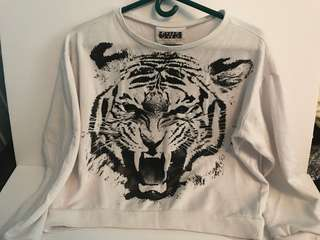 SWS COLLECTION Tiger Graphic Sweater