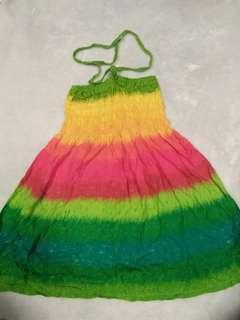3 years beach dress