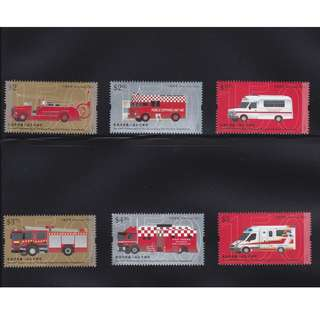 2018 China Hong Kong 150th Anniversary of Fire Services Department MNH