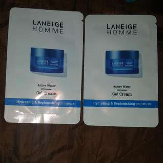 LANEIGE HOMME - Active Water Gel Cream