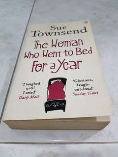 The Woman who went to bed for a year Sue Townsend