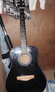 guitar color black