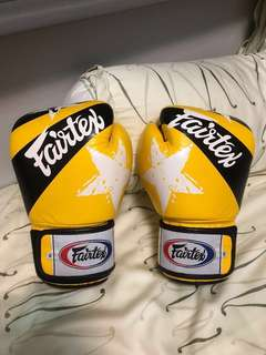 GENUINE LEATHER Fairtex Boxing Gloves (14oz)