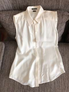 Theory silk shirt (size S) - 90% new