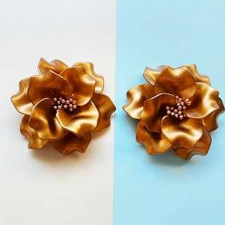 Acrylic Clip on earrings