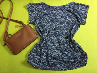 Simple Lace-like-top