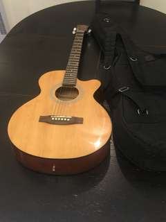 Acoustic Guitar, TGM guitar with bag