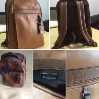 BNWT Tumi Skytop Small Backpack brown