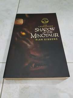 Shadow of the minotaur Alan Gibbons