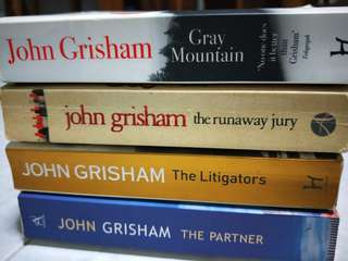 Books by John Grisham 4 books