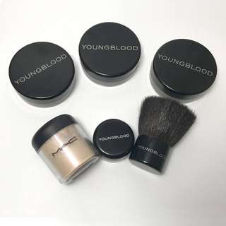 Original SET Young Blood and Mac Mineral Kit