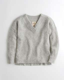 Hollister grey oversized sweater