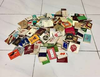 Vintage Collection of Matchboxes
