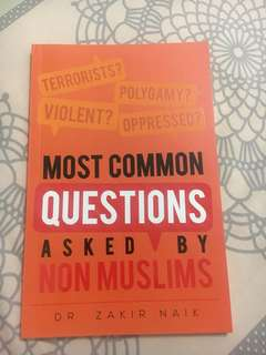 Most Common Questions Asked by Non muslims