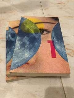 1Q84 by Haruki Murakami (3 books)